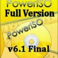 PowerISO 6.1 Full Crack Free Download