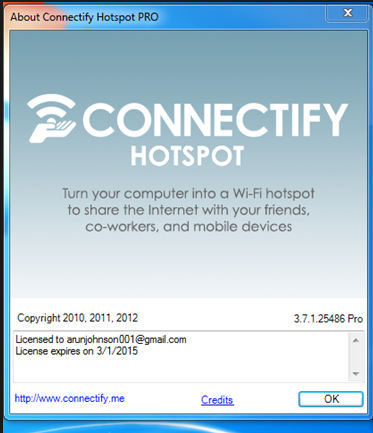 connectify free  for windows 8.1 with crack