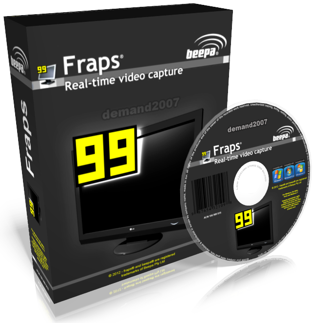 Fraps 3.5.99 crack Download Full version