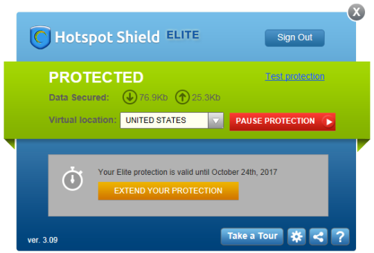 Hotspot Shield Elite Crack + Serial Key Download