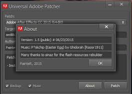ADOBE UNIVERSAL PATCHER V1.5 CRACK WITH ACTIVATION KEY