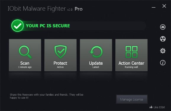 IObit Malware Fighter Pro 2015