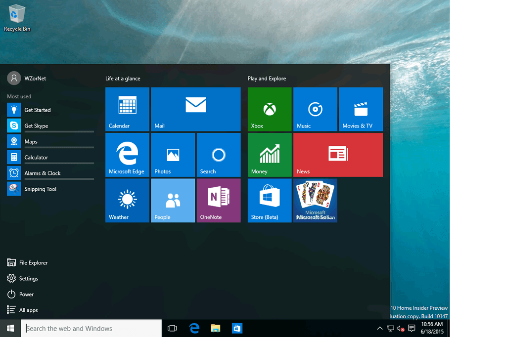 Windows 10 Insider Preview Build 10176 Leaked ISO 4