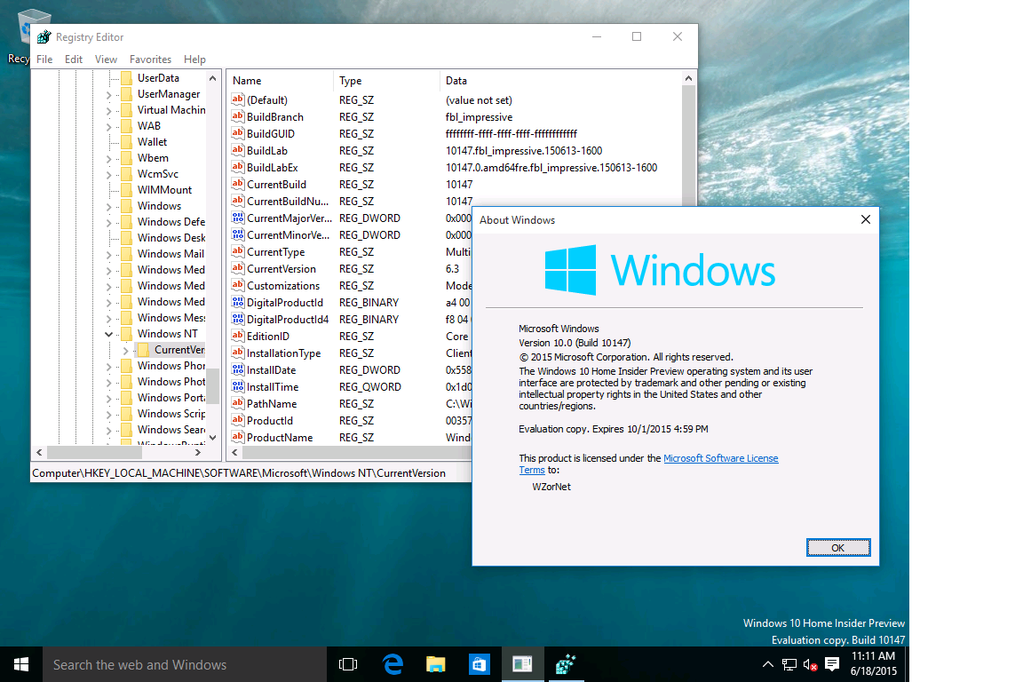 Windows 10 Insider Preview Build 10176 Leaked ISO 5
