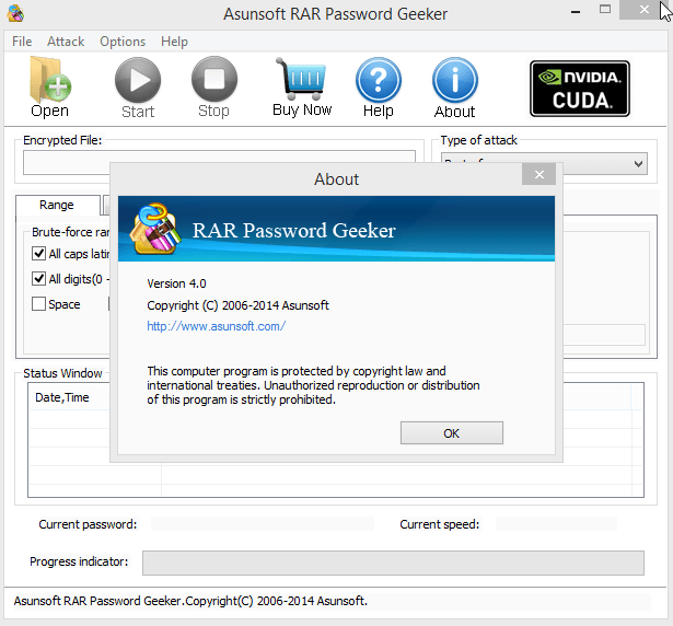 Asunsoft rar password refixer registration code