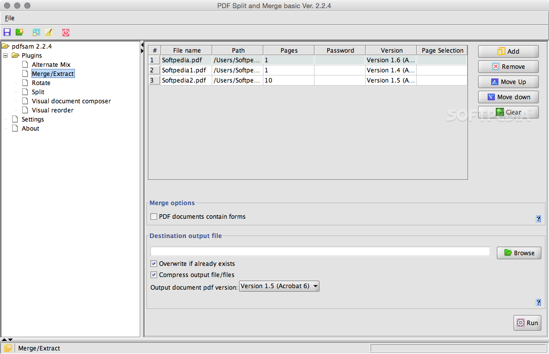 PDF Split and Merge Basic 3.0.0