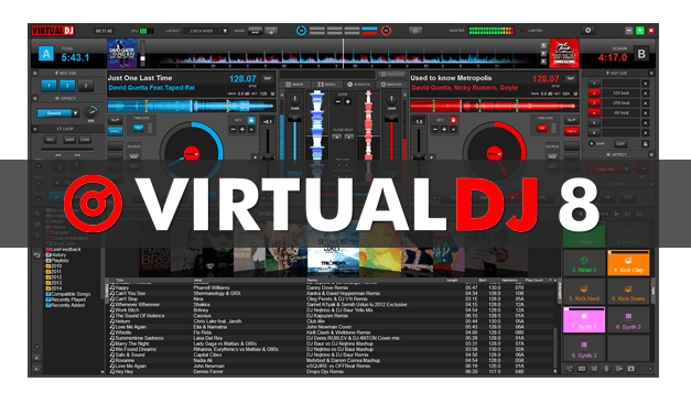 VirtualDJ 8.1 Pro Infinity Crack Plus Serial Key