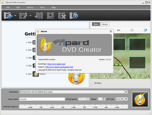 Tipard DVD Creator 3.5.16 Serial Number + Crack Final Version Free Download (1)