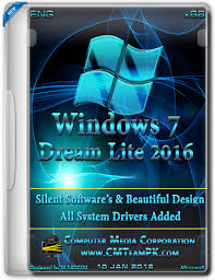 Windows 7 Blue Lite Edition 2016