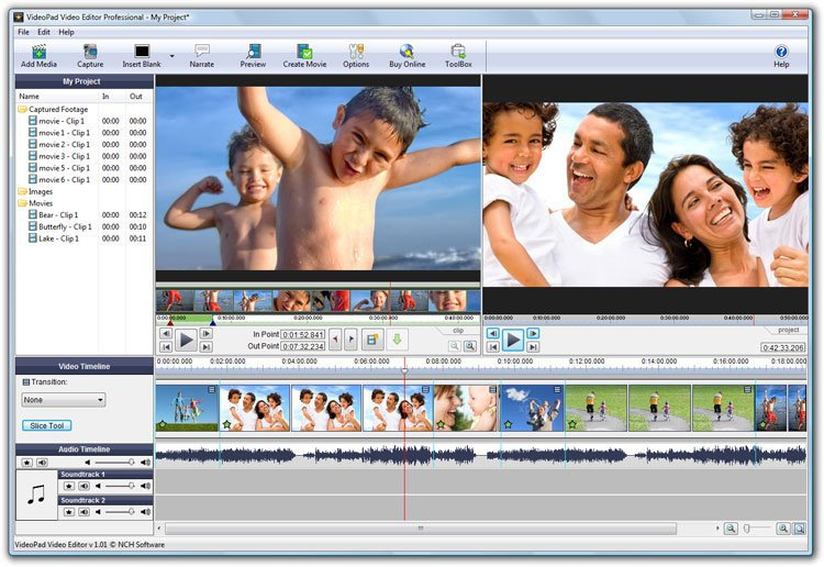 VIDEOPAD VIDEO EDITOR PRO 4.40 FULL Serial Key