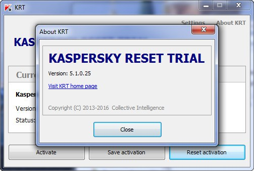Download Kaspersky Reset Trial 5.1.0.25 Final Crack2
