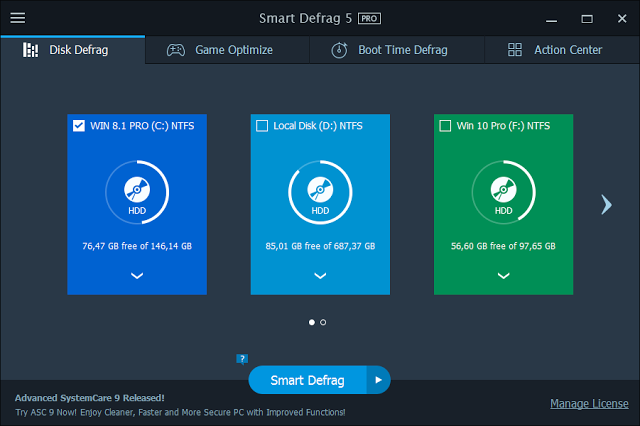 IObit Smart Defrag Pro 5.0.2.769 Latest Version Crack + Serial Key (1)