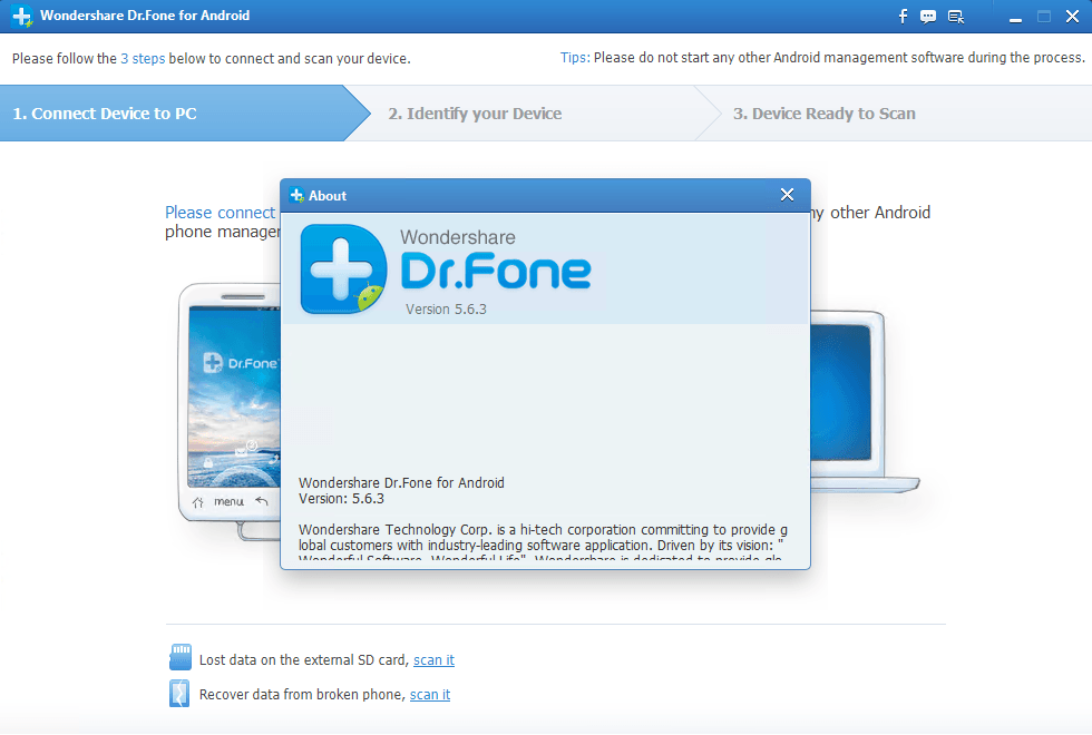 wondershare dr fone for android registration code crack