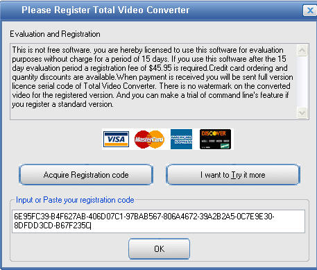 Total Video Converter 3.71 key