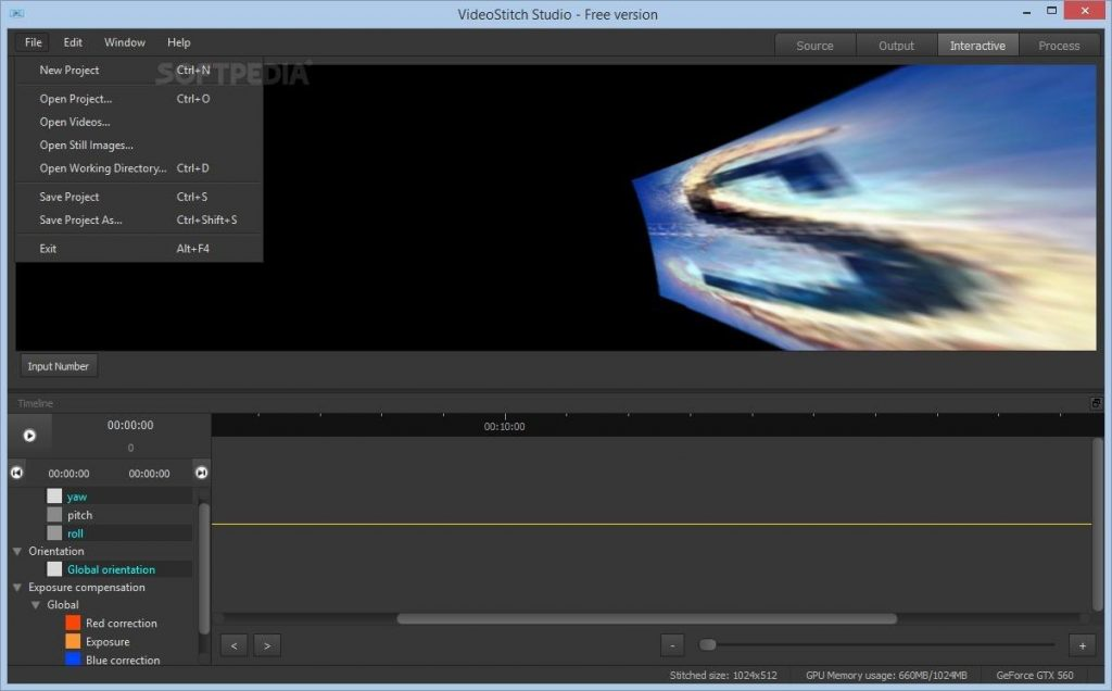 VideoStitch Studio 2.1.1 Full Version