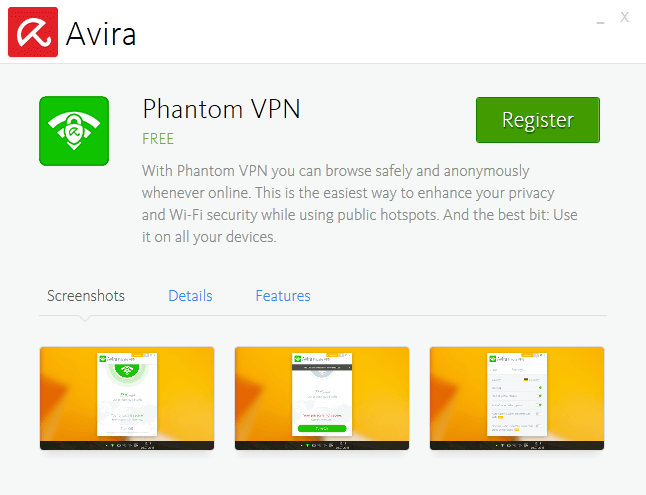 avira phantom activation key