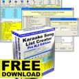 Karaoke_Song_List_Creator