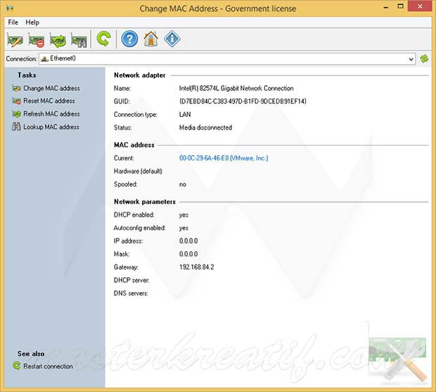 Change MAC address 3.1 Crack Full Download 2