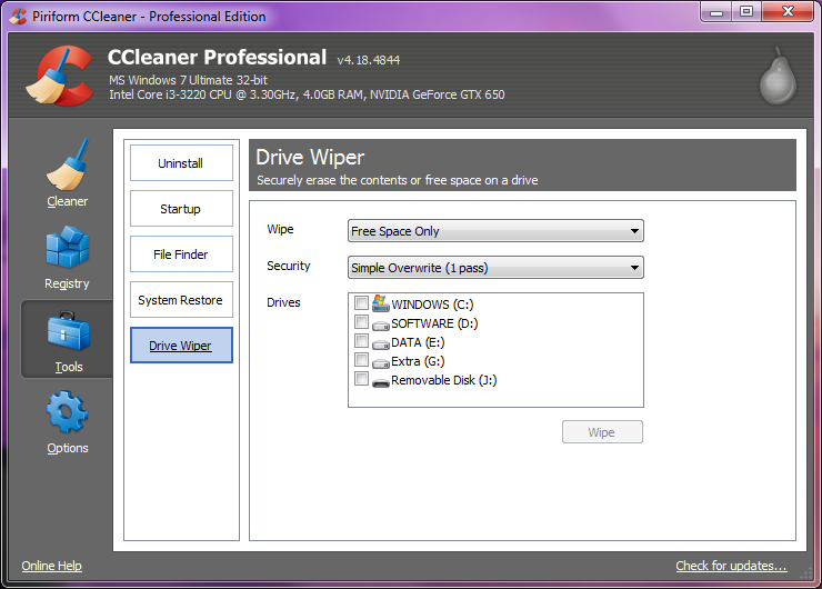 ccleaner  for windows 7 64 bit full version with crack