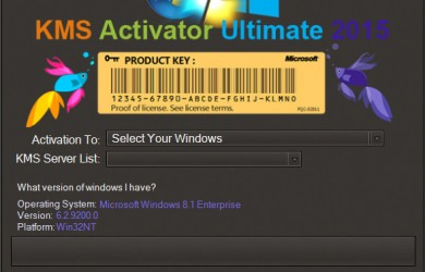 KMS Activator ultimate 2015 v2.4 Free Download