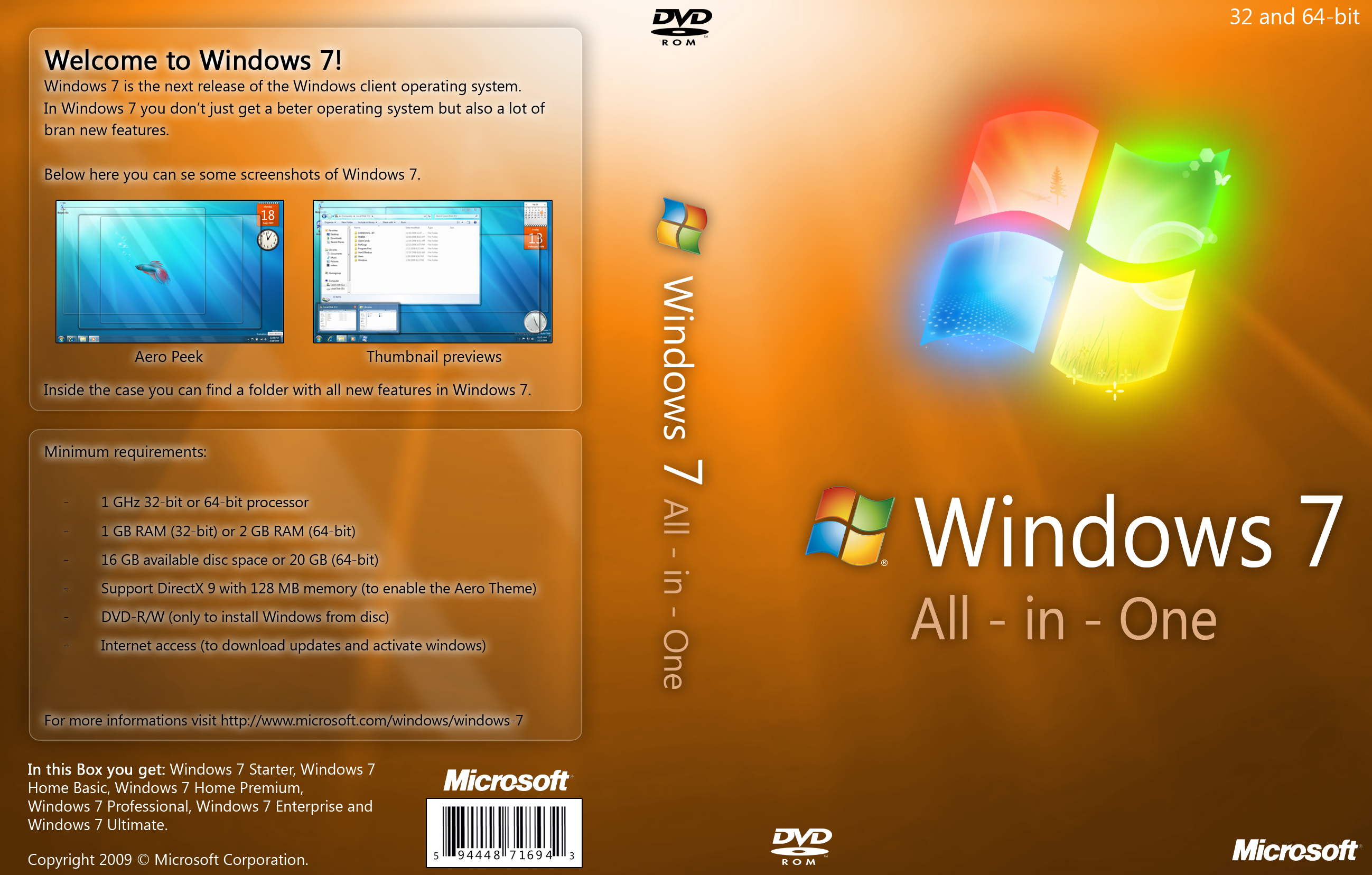 Microsoft windows 7 home premium full version pc dvd for Latest windows version