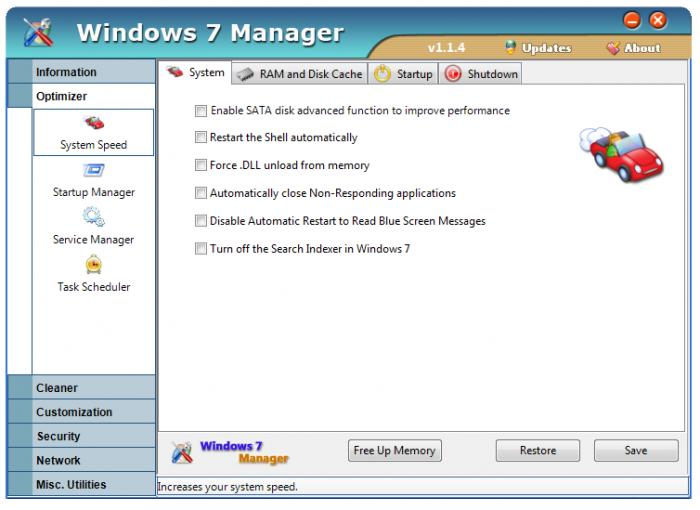 window 7 manager free download
