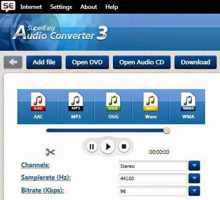 SuperEasy Audio Converter 3 Crack full version