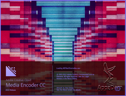 Adobe Media Encoder CC 2015 Crack Version Free Download
