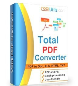 Coolutils Total PDF Converter 5.1.69 Crack Download