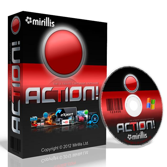 Mirillis Action 1.26.1 Crack Free Download