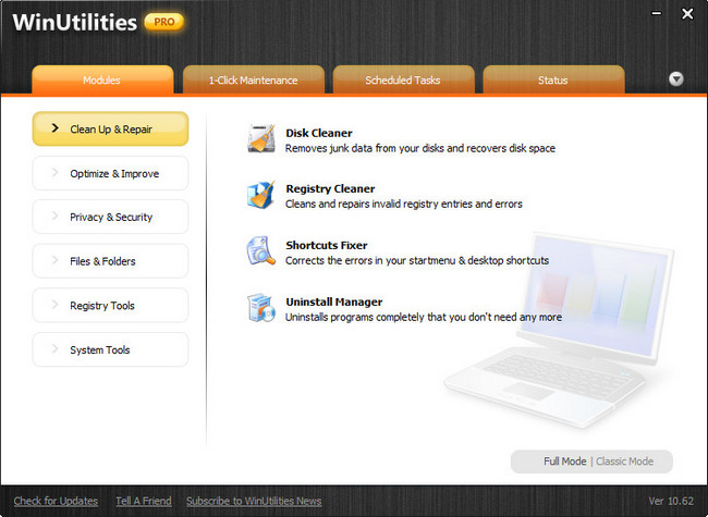 WinUtilities Professional 12.01