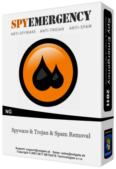 NETGATE Spy Emergency 19.0.605.0 Crack