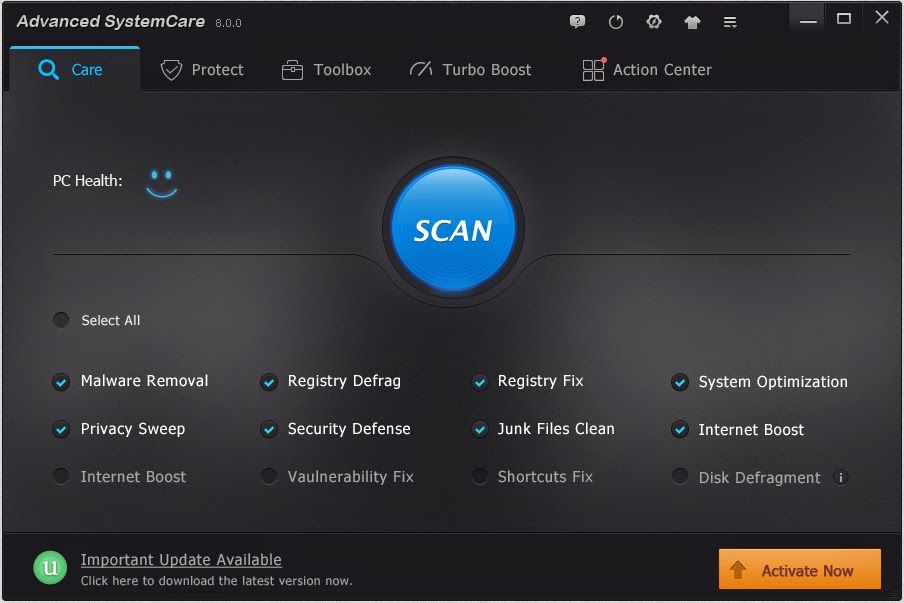 Advanced SystemCare Pro 9.2 Crack Plus Serial Key Download