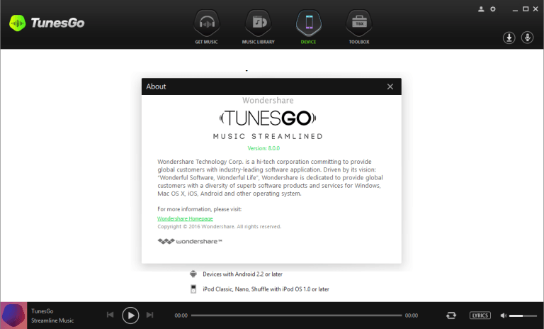 Download Wondershare-TunesGo-8-License-Crack-Key