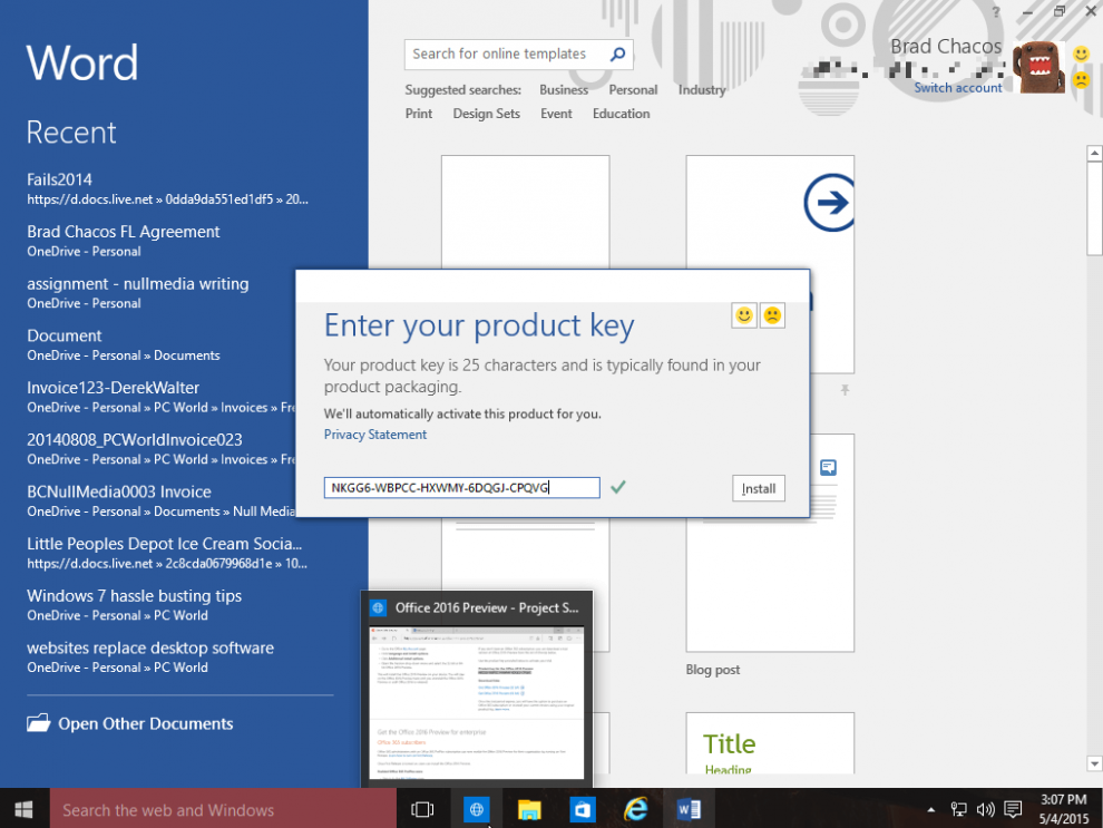 free microsoft product key codes 2013