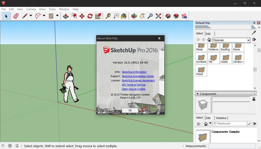 serial number for sketchup pro 2016