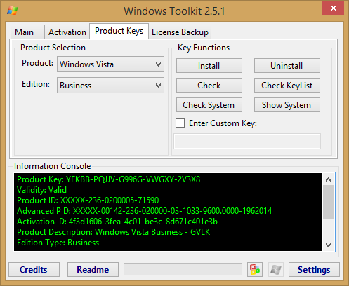 Microsoft Toolkit 2.6.1 Final Activator Screenshots
