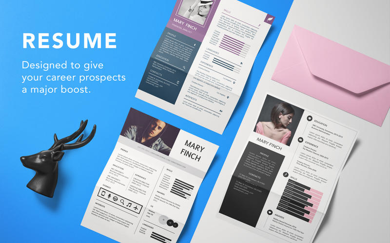 Resume Template by Graphic 1.4 Crack for MAC OS