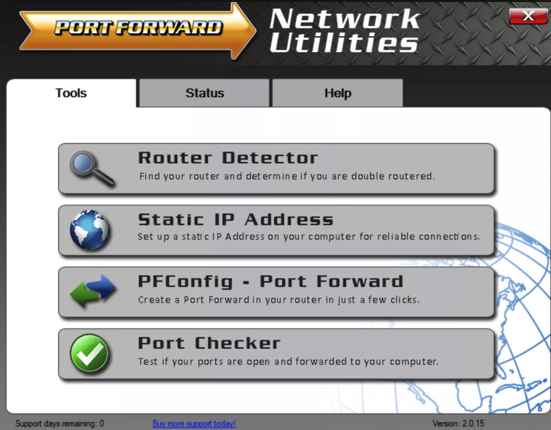 PF network utilities Serial Key